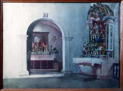 Jaime martins barata pintura de cavalete tema religioso - Pintura interior barata ...